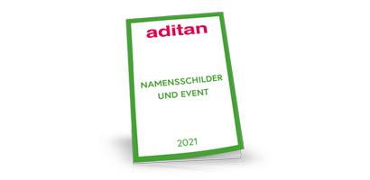 aditan Namensschilder Katalog 2021