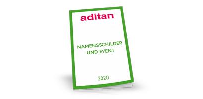 aditan Namensschilder Katalog 2020